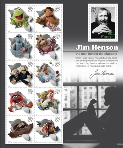 Jim Henson's Muppets Stamps