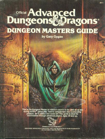 ad d 1st edition dungeon master guide pdf