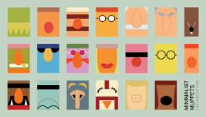 Eric Slager's Minimalist Muppets