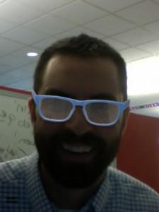 Warby Parker Roosevelt Bondi Blue