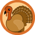 750 Words Turkey Badge